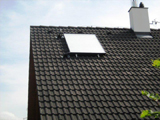 Ukázka solárních panelů Vaillant