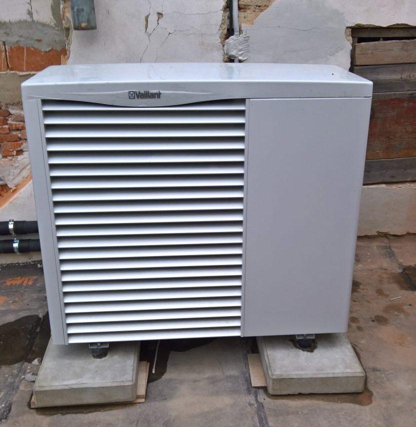 Montáž tepelného čerpadla vzduch/voda aroTHERM VWL 155/2A 400